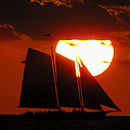 Key West Sunset Sail 5 by Bob Slitzan