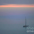 Sunset Sail by Clare VanderVeen