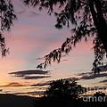 Sunset Sainte Marie-reunion Island-indian Ocean by Francoise Leandre