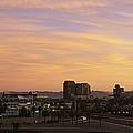 Sunset Skyline Phoenix Az Usa by Panoramic Images