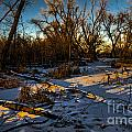 Sunset Snow by Baywest Imaging