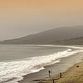 Sunset Surf by Ricky Barnard