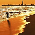 Sunset Surfer by Anthony Sacco