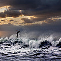 Sunset Surfer by Diana Hughes