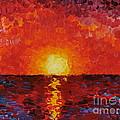 Sunset by Teresa Wegrzyn
