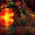 Sunset Trance by Kiki Art