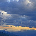 Sunset Under The Clouds by Eric Albright
