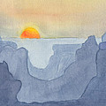 Sunset Valley by Phyllis Brady