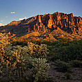 Sunset View Of The Superstitions  by Saija  Lehtonen