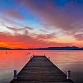 Sunset Walkway by Edgars Erglis