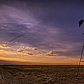 Sunset Windmill by Ken Smith