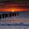 Sunset...naples Style by Melanie Moraga