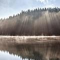 Sunshine Lake by Evgeni Dinev