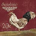 Sunshine Rooster by Debbie DeWitt