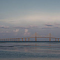 Sunshine Skyway Bridge by Steven Sparks