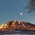 Sunshine Super Moon by Daniel Hebard