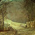 Sunshine Through Winter Trees by John Atkinson Grimshaw