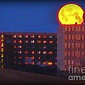 Super Moon In Halifax Nova Scotia by John Malone