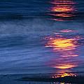 Super Moon Reflection by David Kay