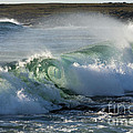 Super Wave At The Barents Sea Coast by Heiko Koehrer-Wagner