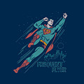 Superman - Frequent Flyer by Brand A