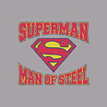 Superman - Man Of Steel Jersey by Brand A