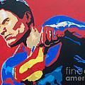 Superman - Red Sky by Kelly Hartman
