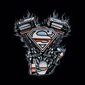 Superman - V Twin Logo by Brand A