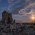 Supermoon At Mono Lake by Cat Connor