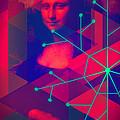 Supernova Mona Lisa by Michelle Dallocchio