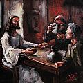 Supper At Emmaus by Carole Foret