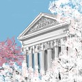 Supreme Court Washington Dc by Lois Ivancin Tavaf