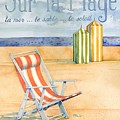 Sur La Plage by Paul Brent