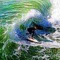 Surf 3 Off The Lip by Glenn McNary