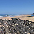 Surf Beach Portugal by Kimberly Maxwell Grantier