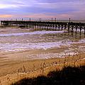 Surf City Pier by Karen Wiles