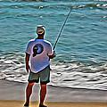 Surf Fishing by Scott Hervieux