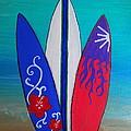 Surf Time II by Pristine Cartera Turkus