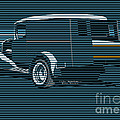 Surf Truck Ocean Blue by MOTORVATE STUDIO Colin Tresadern