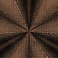 Abstract Metal Mesh 2 by Judi Suni Hall