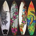 Surfboards Art Jungle2 by MarceloSouza TattoosnGraphx