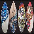 Surfboards Art by MarceloSouza TattoosnGraphx