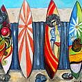 Surfboards by Pristine Cartera Turkus