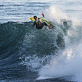 Surfer At Steamer Lane by Bruce Frye