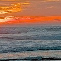 Surfer At Sunset by Terry DeHart