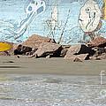 Surfer Beach 1034b by Gary Gingrich Galleries