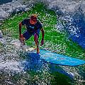 Surfer by Deborah Hughes