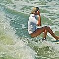 Surfer Hatteras Island 3 7/16 by Mark Lemmon