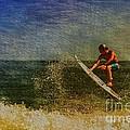 Surfer In Oil by Deborah Benoit