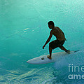 Surfer In The Zone by Bob Christopher